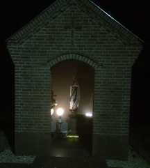 Feestelijke inzegening van de Mariakapel in Balgoy