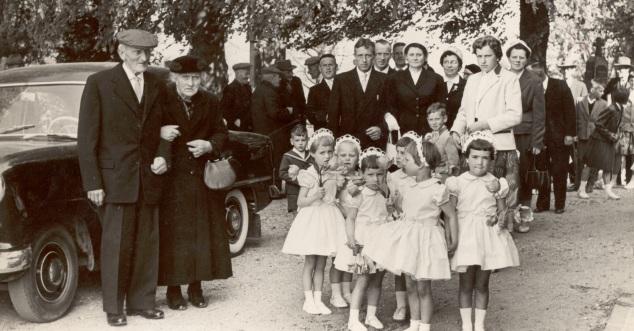 Piet Jans 50 jaar getrouwd