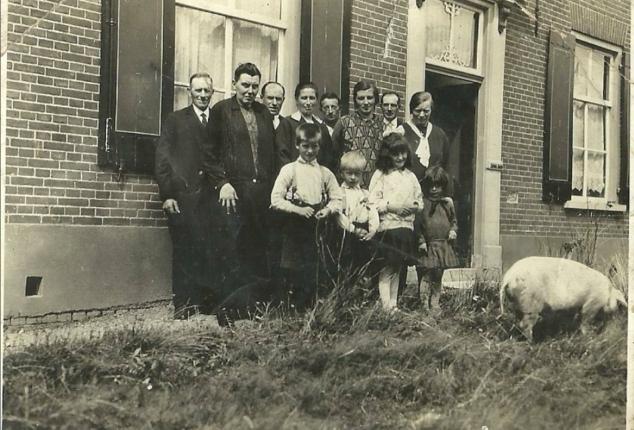 Familie Helderman in Balgoy